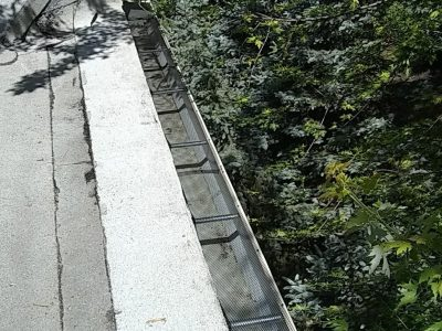 gutter screen industrial gutters
